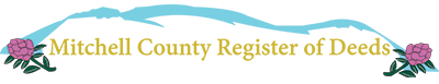 MITCHELL COUNTY REGISTER OF DEEDS
